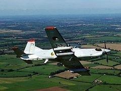 В Ирландии разбился военный самолет