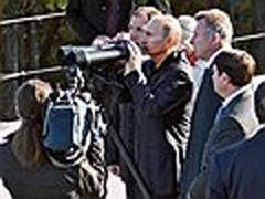 Путину показали макет благополучия России