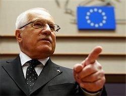 Президент Чехии: я не подпишу Лиссабонский договор
