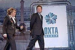 """Небоскреб \""""Газпрома\"""" наткнулся на шведскую стенку"""