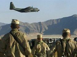 Американский самолет пролетел над Россией в Афганистан
