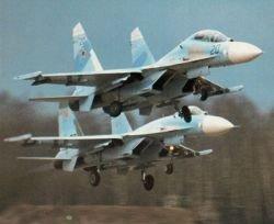 Американская фирма продает два самолета СУ-27