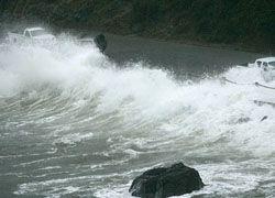 В Калифорнии разбушевался сильнейший шторм