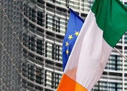 Ирландия ушла в глубокий минус