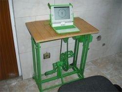В Афганистане будут заряжать ноутбук с помощью педалей