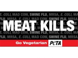 Вегетарианскую рекламу запретили из-за A/H1N1