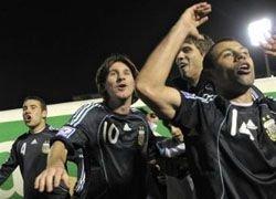 Сборная Аргентины по футболу пробилась на ЧМ-2010