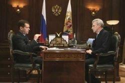 Как Медведев поговорил с Фурсенко