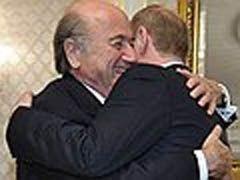 Президент FIFA выступил в премьер-лиге