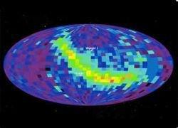 Впервые построена карта границ Солнечной системы