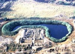 В Египте найдено священное озеро фараонских времен