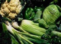 Зеленые овощи и бобовые спасут от бесплодия