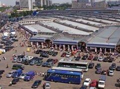 На бывшем Черкизовском рынке в Москве горит склад