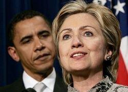 Хиллари Клинтон оказалась популярнее Барака Обамы