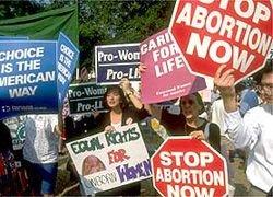 В Испании противники абортов вышли на митинг