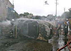 Взрыв прогремел в Назрани рядом с МВД Ингушетии