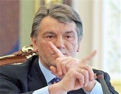 Cамолет Ющенко унес попутный ветер