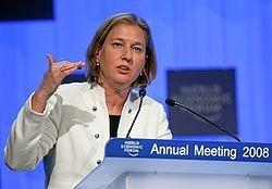 """Ципи Ливни: Израилю нужен был \""""Литой свинец\"""""""