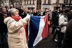 Во Франции забастовали типографии