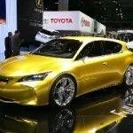Новый концепт-кар Lexus сегмента С-премиум