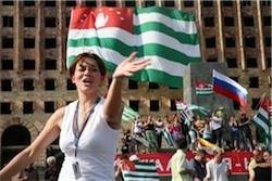 Россия на Кавказе. Лезгинка с выходом