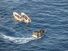 Европейские военные задержали сомалийских пиратов