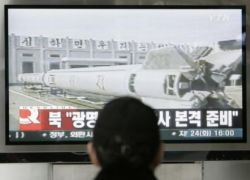 Ракетные испытания Северной Кореи провалились