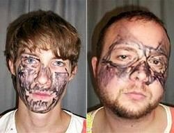 Полиция Айовы поймала грабителей в нарисованных масках