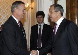 Генерал Джонс встретился в Москве с Сергеем Лавровым