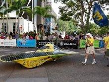 В Австралии проходит гонка экологически чистых авто