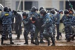 МВД РФ: Водомет – это психологическое оружие