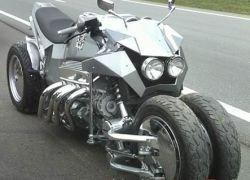 В Бразилии представили мотоцикл будущего