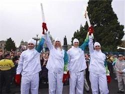 В Канаде попытались сорвать эстафету олимпийского огня