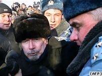 Триумфальный Майдан пресечен милицией