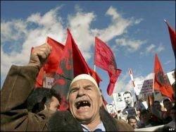 Визит Медведева в Сербию возмутил албанцев