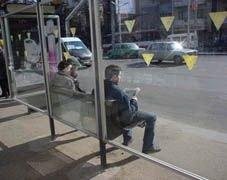 Остановки защитят от наездов машин