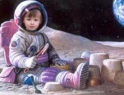 Роскосмос решил приучать детей к космонавтике