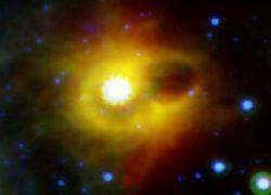 Астрономы поймали эхо погибших звезд