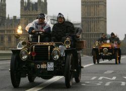 В Лондоне провели ралли автомобильных ветеранов