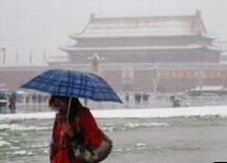 Ученые нечаянно засыпали Пекин снегом