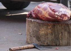 Московские ветеринары обнаружили зараженную свинину