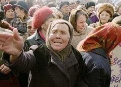 ОМОН натаскивают разгонять митинги пенсионеров