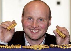 Шотландец нашел клад на 1 млн. евро
