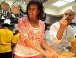 Мишель Обама снимется в кулинарной передаче