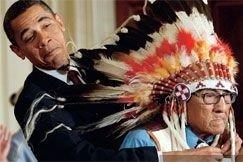 Барак Обама – вождь краснокожих