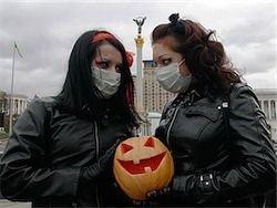 Политический аспект эпидемии гриппа на Украине