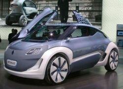 Renault сделает электрокары серийными в 2012 году