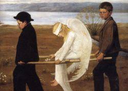 Ученые доказали, что ангелы не способны летать