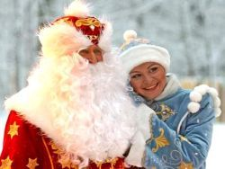 Дед Мороз-байкер едет в Санкт-Петербург