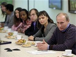 Путин перевел студентов из Гаити на бесплатное обучение